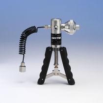 Pneumatic calibration pump / manual / for pressure generation