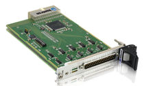 Multi-channel communication controller card / CompactPCI / serial / 3U