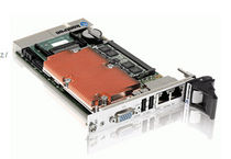 CompactPCI CPU board / Intel Core™Duo / rugged / 3U