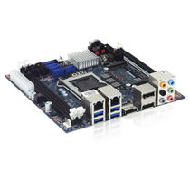 Mini-ITX motherboard / Intel Q87 / 4th generation Intel® core / embedded