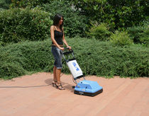 Walk-behind scrubber-dryer / cable powered / compact