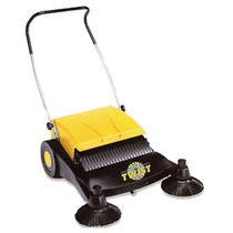 Walk-behind sweeper / motorless