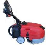 Walk-behind scrubber-dryer / battery-powered
