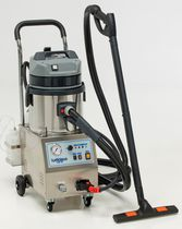 Steam cleaner / electric / mobile / stainless steel