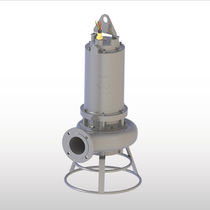 Wastewater pump / slurry / electric / submersible