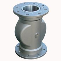 Pinch valve / pneumatically-operated / mixing / stainless steel