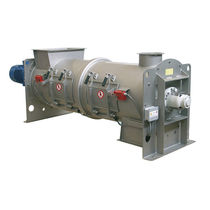 Plowshare mixer / continuous / solid/liquid / for sludge and lime