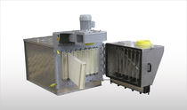 Air filter / strainer / compact / for dust collectors