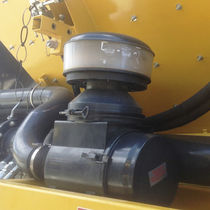 Hydraulic vibrator / for hoppers / rotary / high-frequency