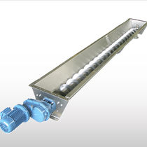 Screw conveyor / for the food industry / for the pharmaceutical industry / for powders