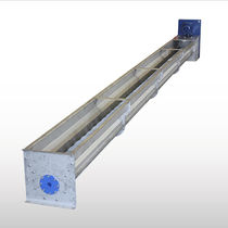 Screw conveyor / for the food industry / meat / transport