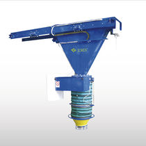 Truck loading spout / telescopic