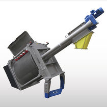 Drum screener / solid/liquid / drainage / self-cleaning