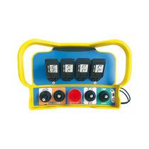 Radio remote control / joystick / belt / for hydraulic cranes