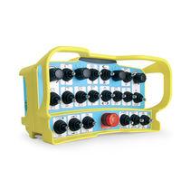 Radio remote control / joystick / belt / for machine tools