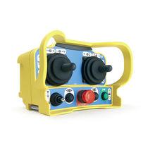 Radio remote control / joystick / compact / multifunction