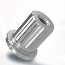 Knurled insert / aluminum