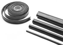 Polyolefin heat-shrink tubing / flexible / halogen-free / for cables