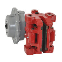 Caliper disc brake / spring / with pneumatic release