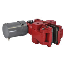 Caliper disc brake / release spring / hydraulic