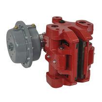 Caliper disc brake / spring / hydraulic release