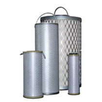 Coarse pre-filtration filter cartridge / wire mesh / for liquids / for gas turbines