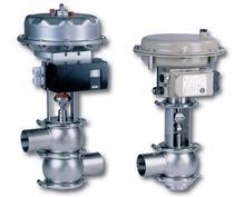 Pressure-control valve / mixing
