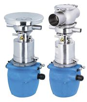 Foodstuffs valve / metering / mix-proof / sampling