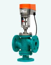 Fluid valve / motorized / regulating