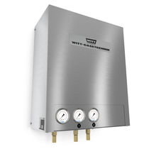 Continuous mixer / for gas