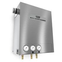 Continuous mixer / for gas / compact
