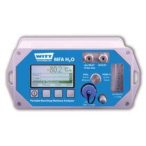 Gas analyzer / dew-point / moisture / benchtop