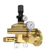 Acetylene pressure regulator / single-stage / dome-loaded / brass