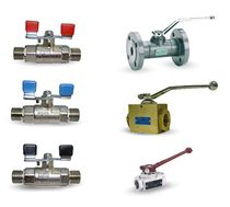 Ball valve / lever / control / for gas