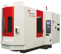 3-axis CNC horizontal machining center 650 x 560 x 560 mm | HC400 KONDIA