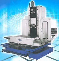 3-axis CNC horizontal machining center EBM-1000 Frejoth International Ltd.