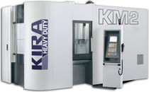 3-axis CNC milling-drilling machine with integrated pallet changer 1000 Χ 600 Χ 640 mm | Kira KM-2 Kira America.