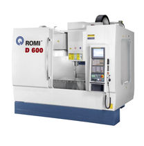 3-axis CNC vertical machining center for dies and molds Romi D 600, D 800, D 1000, D 1250, D 1500 Romi