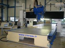 3-axis CNC vertical machining center for plastic and composite max. 10000 x 1250 mm | CRENO UGV-3a Le Creneau Industriel