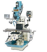 3-axis vertical milling machine 28.5 x 12 x 16"