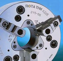 3-jaw lathe power chuck with through-hole ø 165 - 630 mm | ROTA THW plus SCHUNK