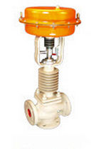 3-way pneumatically operated control valve DN 20 - 100, max. PN 25 | PV-5116A/CSF series Avcon Controls PVT. Ltd.