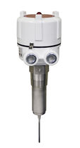 Vibrating rod level switch / for bulk materials / threaded