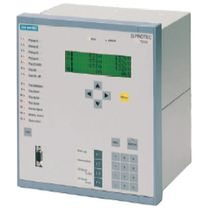 Distance protection relay / panel-mount / programmable