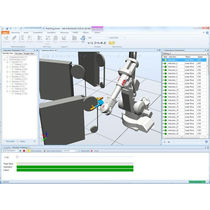 CAD/CAM software / machining / for robotic applications / off-line