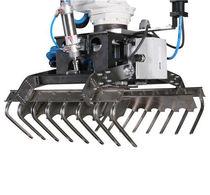 Pneumatic gripper / for palletization robots / high-speed