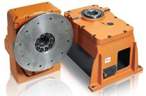 Right-angle gear reducer-multiplier / for robotics
