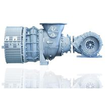 Compact turbocharger / four-stroke engine / for diesel engines / power generation