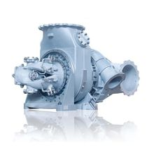 Four-stroke engine turbocharger / for diesel engines / medium-speed