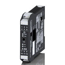 Power amplifier / DIN rail / for load cells